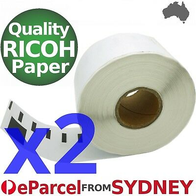 2x Compatible Dymo SD11352 Rolls, 500 labels per roll, 25x54mm eParcel Sydney