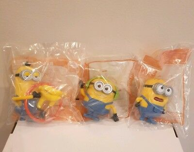 McDonalds Happy Meal Toys 2017 Despicable Me 3 Minions x3