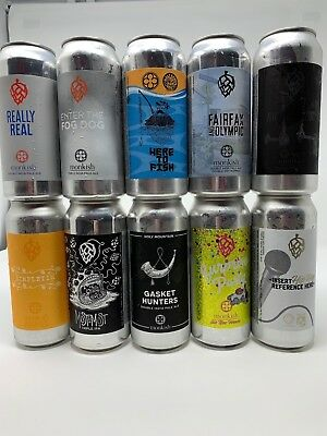 Monkish Mixed 10 Pack 10 Cans Total Tree House Trillium Tired Hands TIPA IPA
