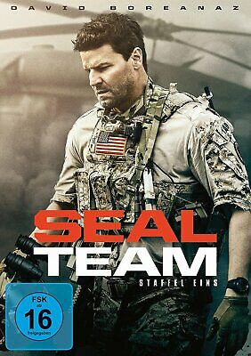 SEAL Team - Season/Staffel 1 - (David Boreanaz) # 6-DVD-BOX-NEU