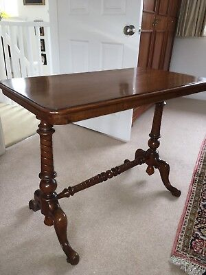 Stretcher / Library/Coffee/Side Table - Victorian