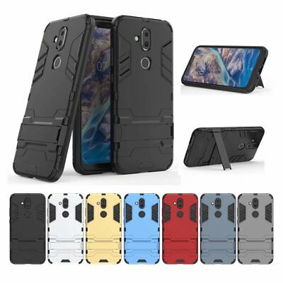 Hybrid Shockproof Rugged Kickstand Tough Armour Case Heavy Duty Cover For Nokia