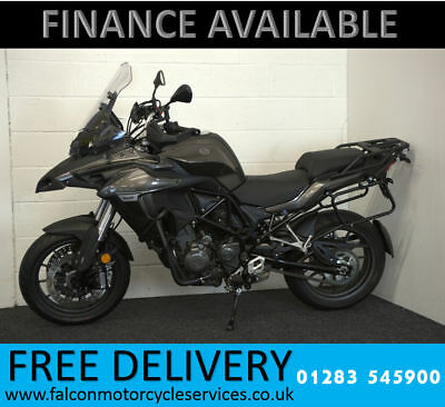 BENELLI TRK 502cc, Tourer, GREY / SILVER, PRE REG, 0 MILES, APPROVED DEALER