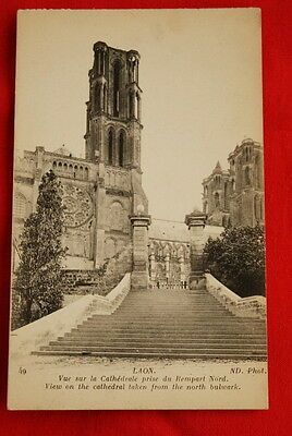 Laon Cathedrale Rempart Nord N°49