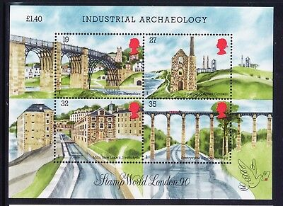 GB 1989 SGMS1444 Industrial Archaeology mini-sheet - unmounted mint. Cat £6