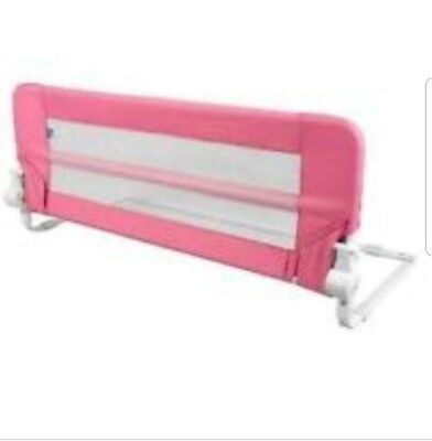 Brand New Childcare Bed Guard / Rail 102cm Pink