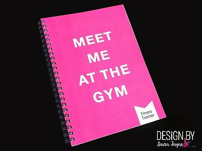 Fitness book / journal / workout tracker / gym diary / personal trainer / Gym