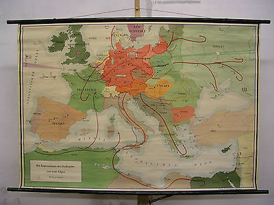 Schulwandkarte Role Map Wall Map School Map Greater Germany War 139x96 Map