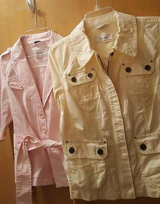 LOT of 2 NWT Nordstrom CASLON light weight Spring Jackets sz XS