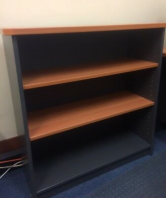 PerthPickupOnly! QUALITY BOOKCASE 90x90cm WATEC OFFICE HOME BOOKSHELF RRP$269