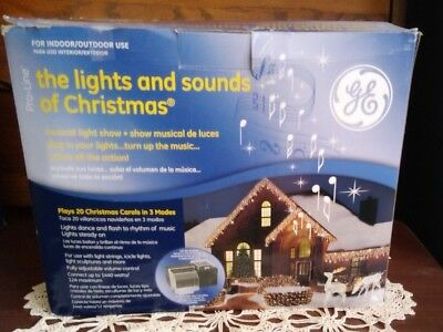 "Mr Christmas Lights & Sounds Of Christmas Musical Light Show: Plays 20 Songs - MR CHRISTMAS €�GE"" Pro Line Wireless Lights And Sounds Of Christmas"