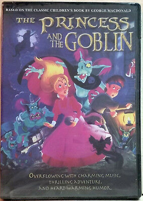 The Princess and the Goblin (DVD, 2006) FACTORY SEALED / R1 / NTSC