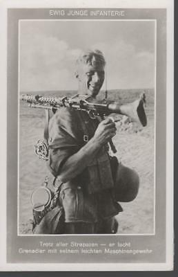rare German WWII Original Wehrmacht Army Postcards Young Infantry Wartime 1942 a