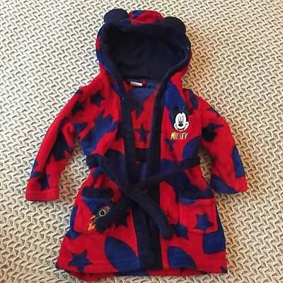Disney Dressing Gown 12-18 Months Excellent Condition