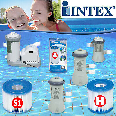 INTEX Swimming Pool Pumpe Filterpumpe Poolpumpe Filterkartusche Kartusche