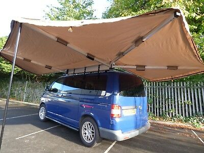 270° Degree Vehicle Camping Side Awning Protection Canopy Accessory