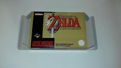 The Legend of Zelda A Link to the Past - FR - PAL  - Super Nintendo - Only Box