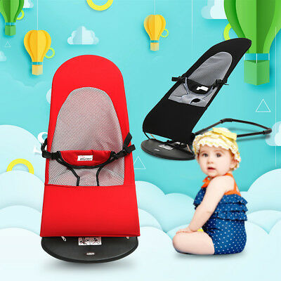 Baby Bouncing Chair Soft Newborn Infant Rocking Seat Safety Balance Bouncer !