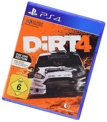 Codemasters DiRT 4 Day One Edizione PS4 USK: 6