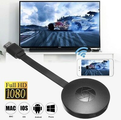 2018 Nuovo chromecast 2.0 Miracast G2 HDMI Support 4K Android & iOS