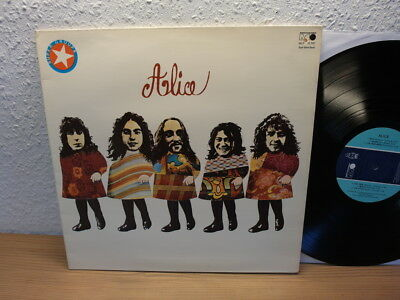 ALICE SAME LP Foldout Cover Metronome Records Germany 1971