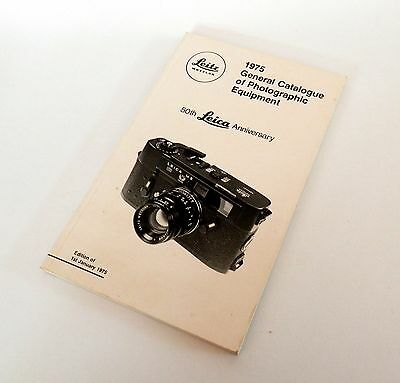 Leica - The 1975 50th Anniversary General Catalogue #1091