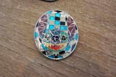 Disney Hong Kong Parks HKDL Mosaic Collection Stained Glass Stitch Pin
