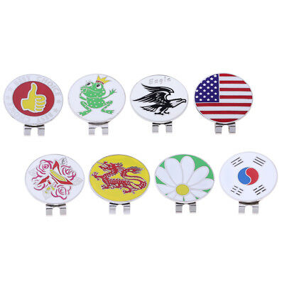 Magnetic Hat Clip with Metal Golf Ball Markers Club Giveaways Souvenir Eagle