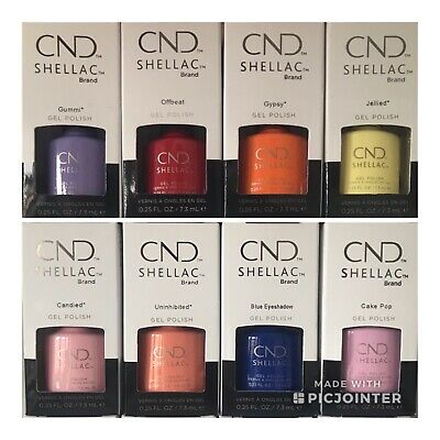 CND Shellac 100% Genuine UV Nail Polish 7.3 mls - Choose Colour