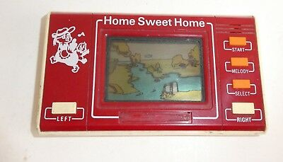 Ancien Jeu Electronique Sunwing Home Sweet Home Vintage Lcd