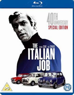 The Italian Job - 40Th Anniversary Edition Blu-Ray [Uk] New Bluray