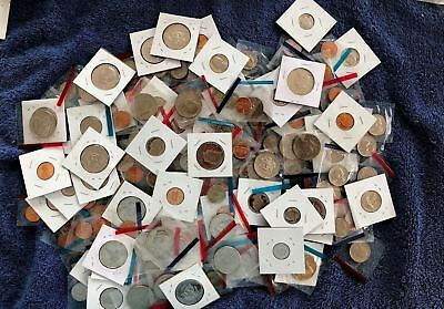 Uncirculated/proof Coin Lot Of(20) Coins In Cellophane Wrappers Or 2X2 Holders