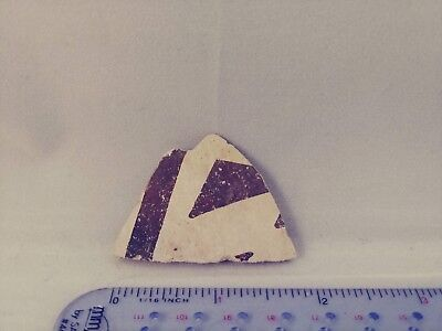 Ancient Native American ANASAZI Painted Pottery Shard Pre-Columbian for Jewelry!