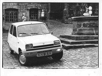 1972 Renault 5 ORIGINAL Factory Photo oac1252