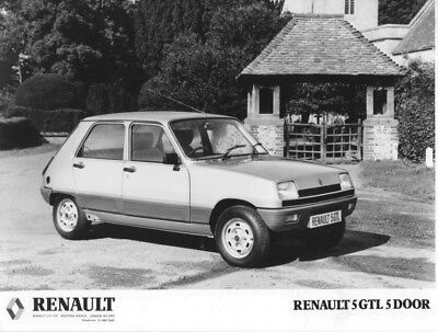 1978 Renault 5 GTL Five Door ORIGINAL Factory Photo oac1256