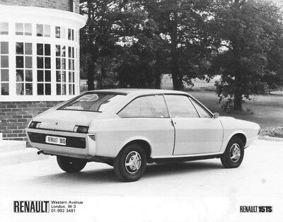 1981 Renault 15 TS ORIGINAL Factory Photo oac1286