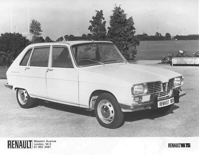 1974 Renault 16 TS ORIGINAL Factory Photo oac1289
