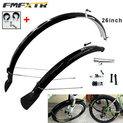 """MTB Mountain Bike Front Bicycle Fender Mudguards 26"""" Mud Guard Cycling Accessory"""