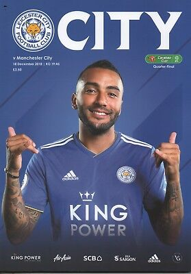 18/19 Leicester City v Manchester City  (18/12/18)
