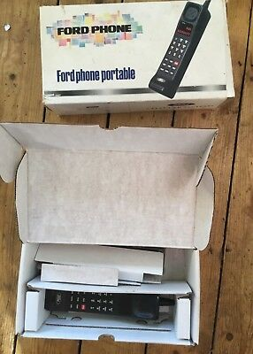 Vintage RETRO Brick Mobile Phone early generation Portable Ford original battery