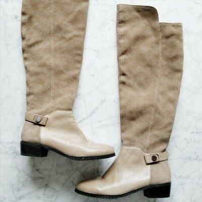 c350128d485  295 Anthropologie Kelsi Dagger Suede Over the Knee Boots 7