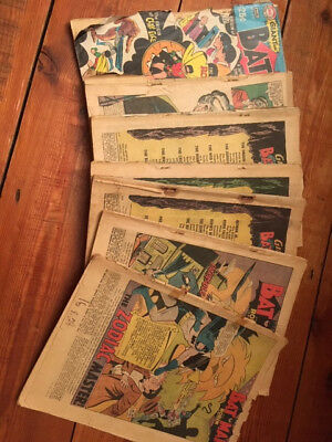 1960s Batman Comics, 25-Cent Annuals: Robin Dies At Dawn, Secret of the Ant-Man