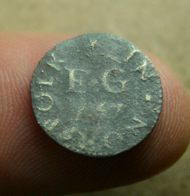 NORFOLK Kings Lynn JOSEPH BREBON 17th Century Farthing Token 1657 VERY RARE.