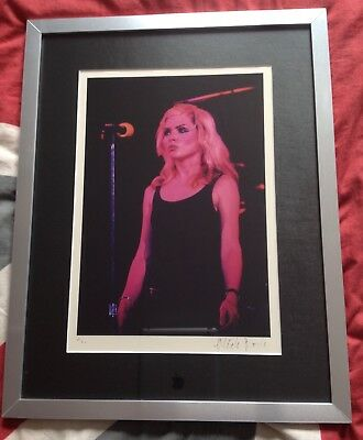 Debbie Harry Limited Edition Mick Rock Photo Print 12/50 Signed by Mick Rock