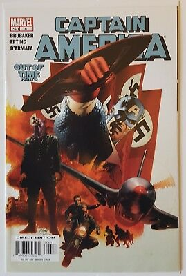Marvel - Captain America #6 Key Issue 1St Appearance Winter Soldier June 2005
