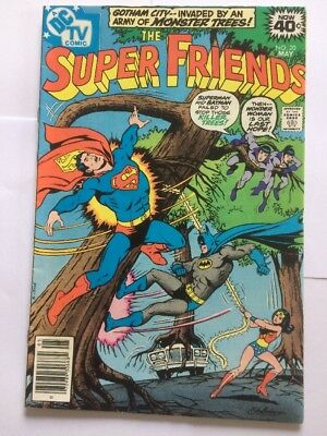 DC Comic The Super Friends Issue 20 May 1979   Very Fine  Superman Batman WWoman
