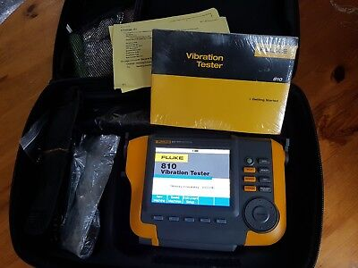 Fluke 810 Handheld Mechanical Vibration Tester. New And Unused. 2018 Model!!