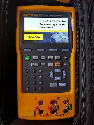 Fluke 754 Documenting Process Calibrator With Hart Communicator .new