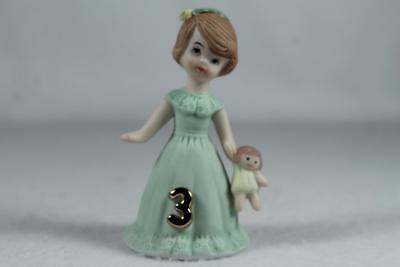 Growing Up Girls - Age 3 Brunette #E-9527 Adorable New In Box