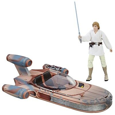 Star Wars: The Black Series (Skywalker & X34 LANDSPEEDER) [Toy]
